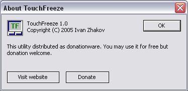 About TouchFreeze