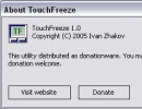 About TouchFreeze