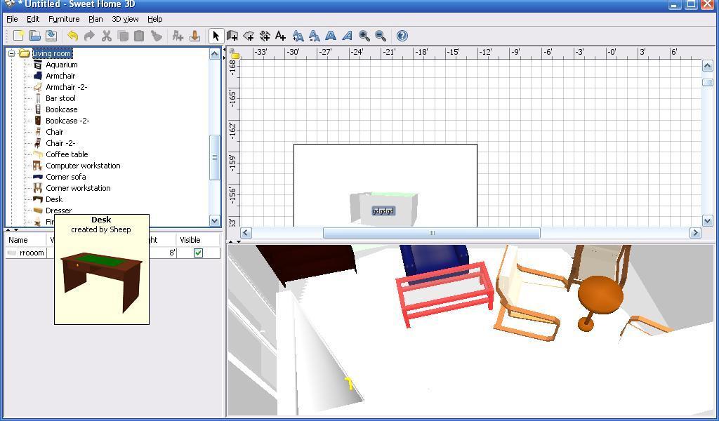 Sweet Home 3d Software Informer Screenshots