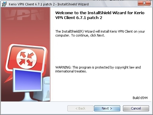 Kerio VPN Client 6.7 Download (Free) - kvpncgui.exe