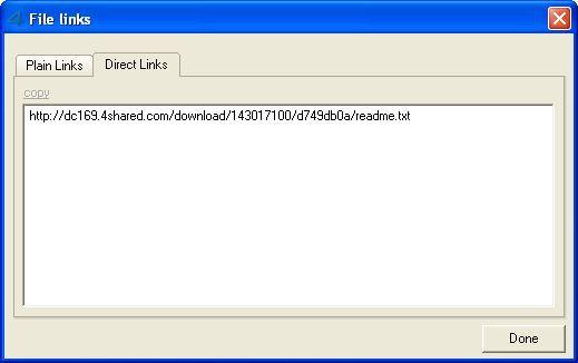 File links