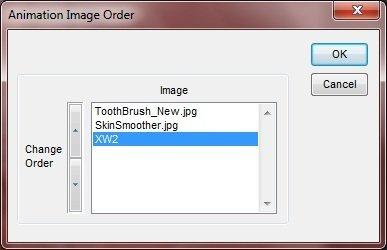 Animation Image Order