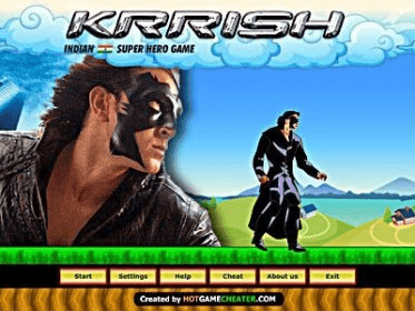 نتیجه تصویری برای krrish the game