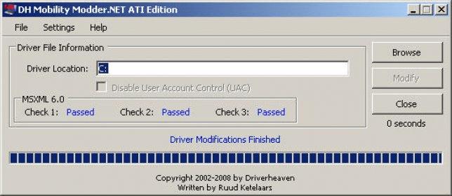 Ati failed to load detection