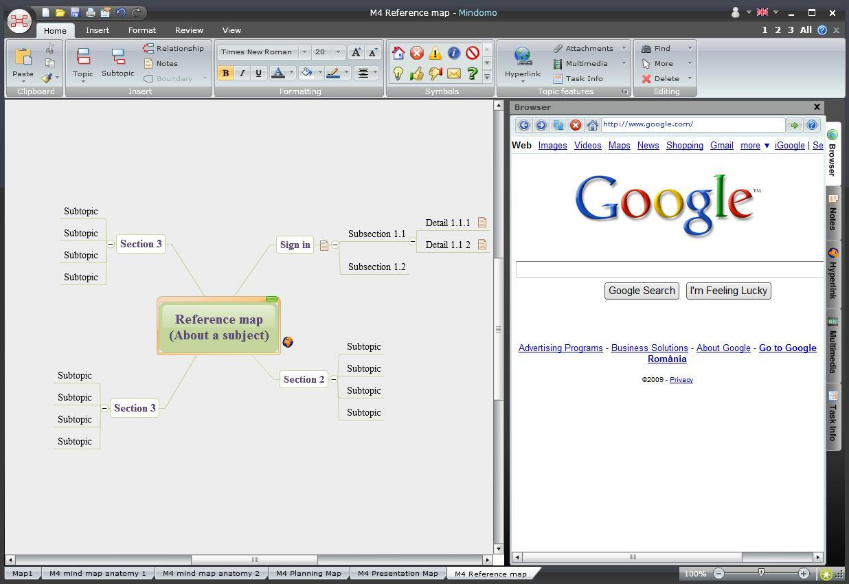 Embedded Browser