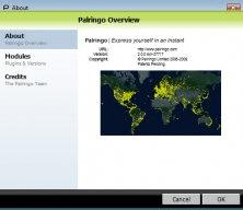 Palringo users map