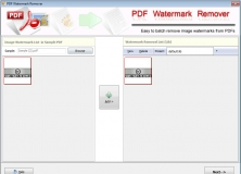 Watermark Selection Window