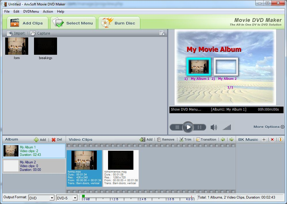 Adding videos