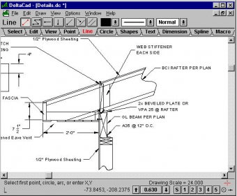 deltacad download simple cad program for windows and mac