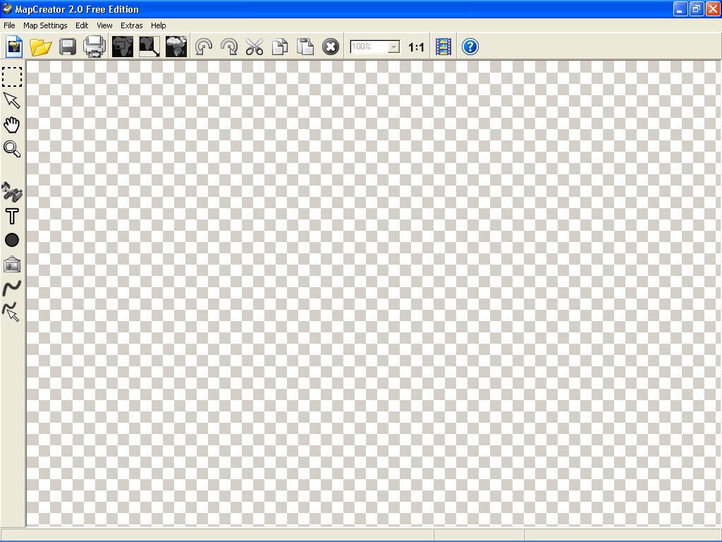 MapCreator main window
