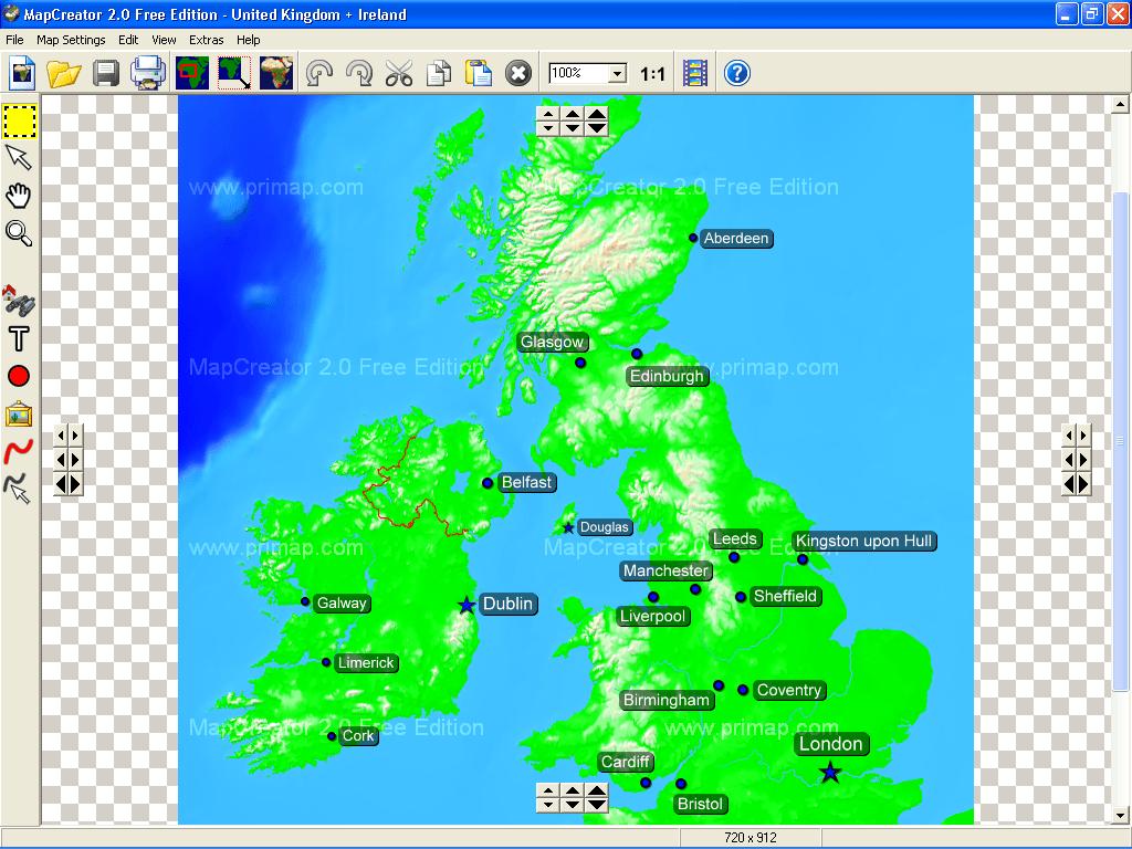 MapCreator example