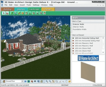 3D Home Architect Home & Landscape Deluxe 8.0 Download (Free trial ...