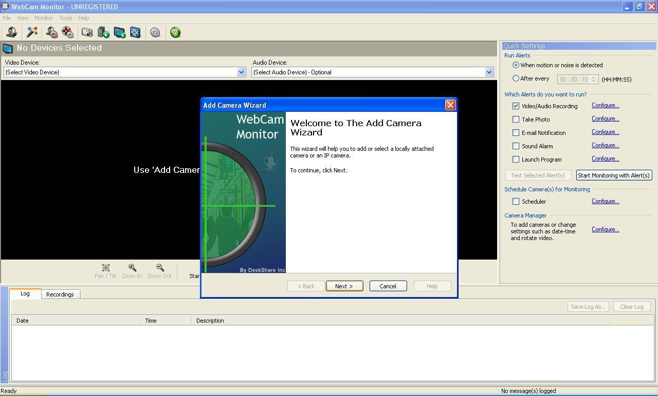monitor warez Webcam