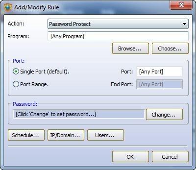 Adding Access Rule