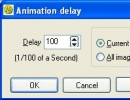 Setting up the delay between each frame