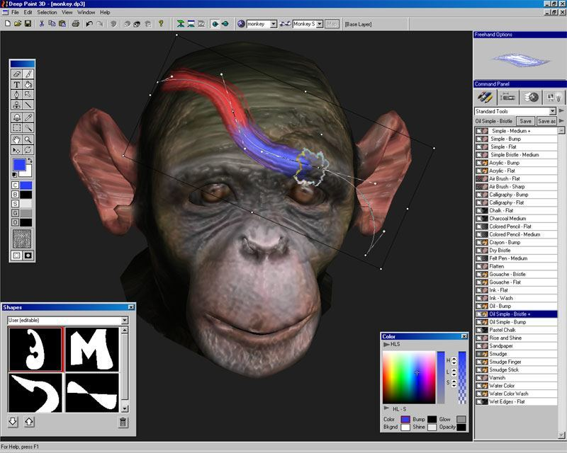 Deep Paint 3d Software Informer Screenshots