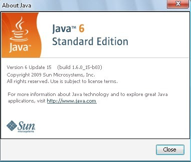 About Java View