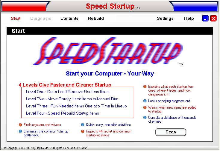 Speed Startup - Opening Window