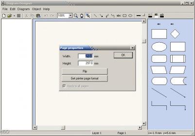 Diagram designer 12 download free diagramdesignerexe properties object diagram ccuart Gallery