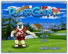 Free Polar Golfer