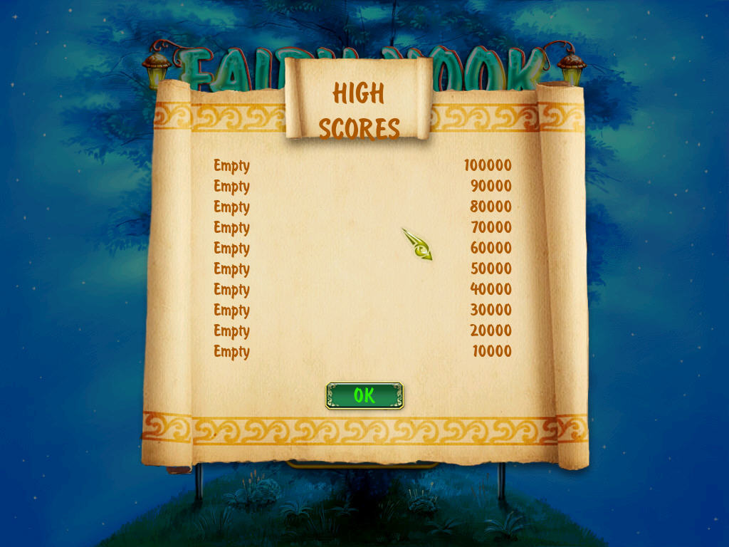 High Scores View