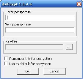 Encrypt Window