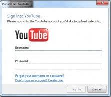 Uploading to YouTube