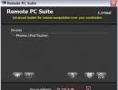 Remote PC Suite