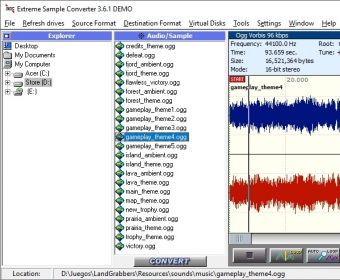 Extreme Sample Converter 3.6 Download (Free trial) - Exsc.exe