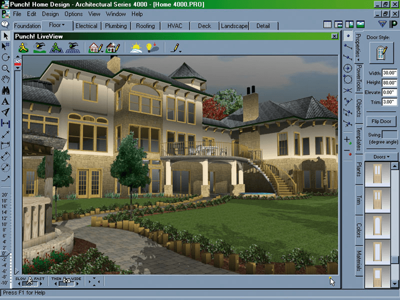 Home Design Landscape Pro Punch Architectural Series Software