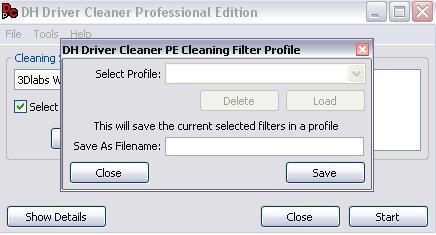 Selecting Profile