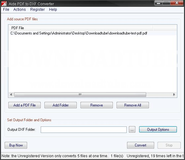 Aide pdf to dxf converter мощное программное обеспечение, которое поможет в