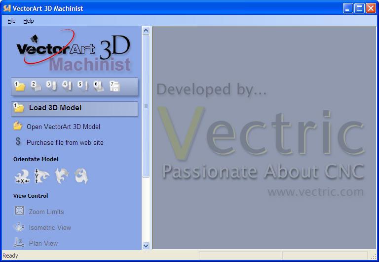 Vector Art 3D Machinist Software Informer Screenshots