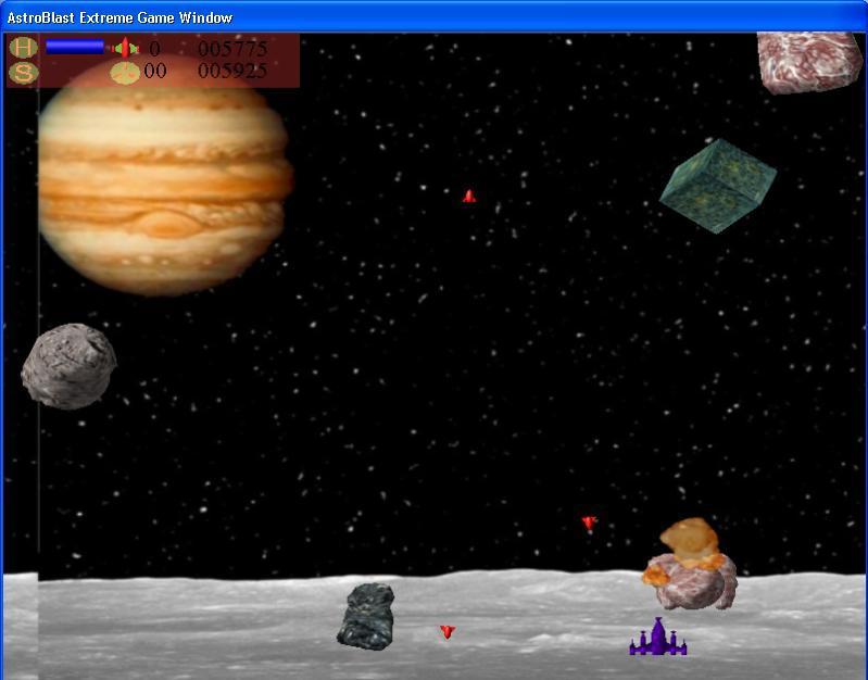 Astro Blast Extreme (user interface)