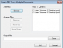 PDF Creating Window