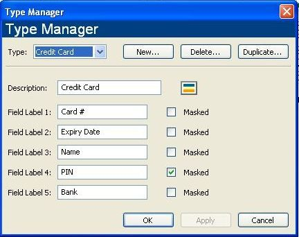 Type Manager