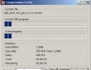 Compressing process window