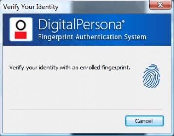 srs fingerprint verification system