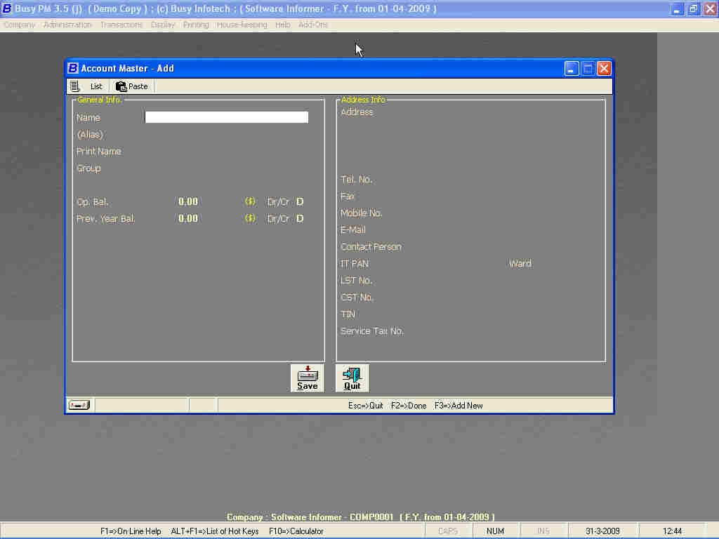 busy accounting software 14 free download full version with crack