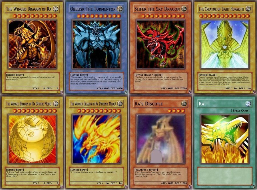 Yu-Gi-oh Egyptain game 1.0 : Main window