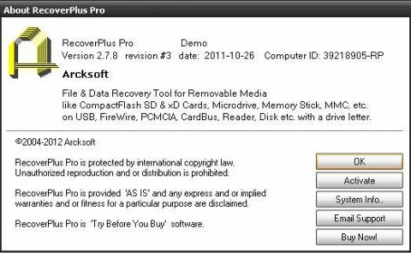 File recovery for memorystick 1 2