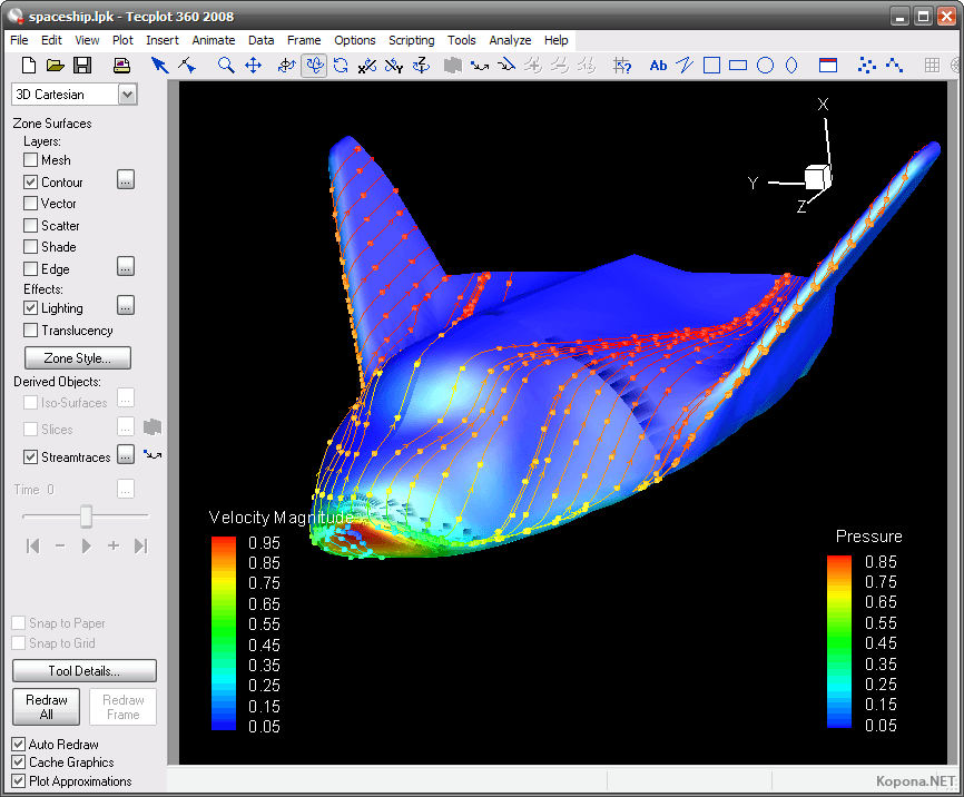 Tecplot 360 Software Informer: Screenshots
