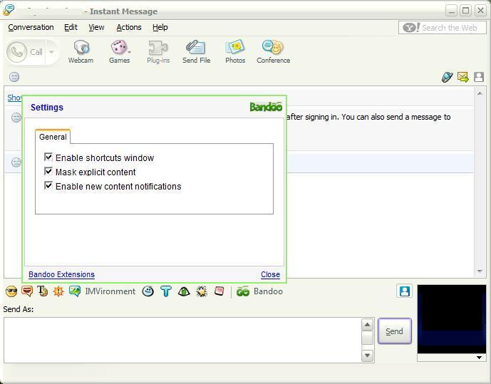 Yahoo Messenger integration.