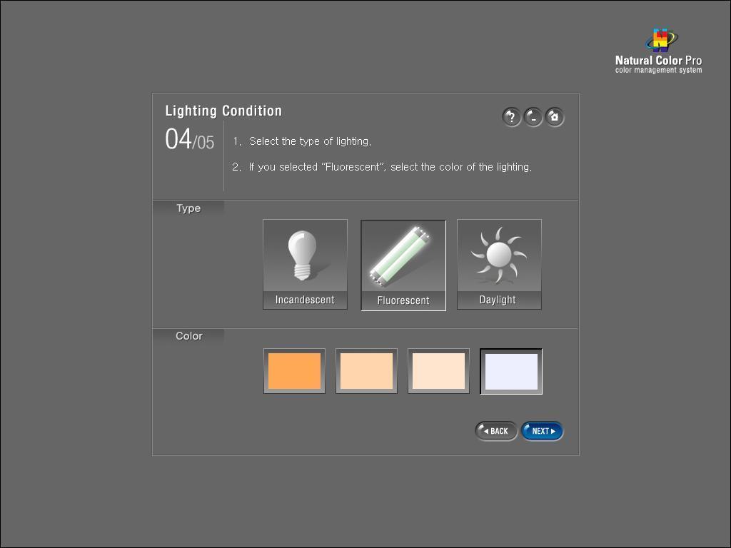 Lighting condition