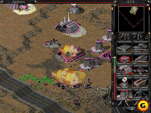 Mand Conquer Tiberian Sun Software Informer Screenshots