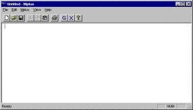 Main menu screen.