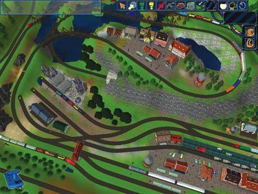 Free model railroad simulation software industry