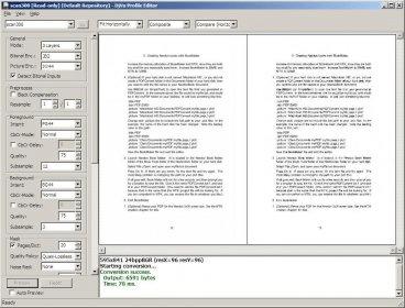 Djvu document express editor