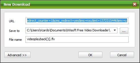 New Download Window