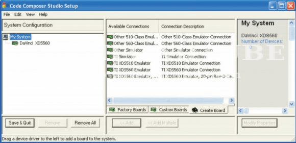 Code Composer Studio (free) download Windows version